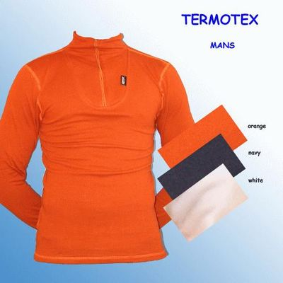 TERMOTEX  Rolák zip grey